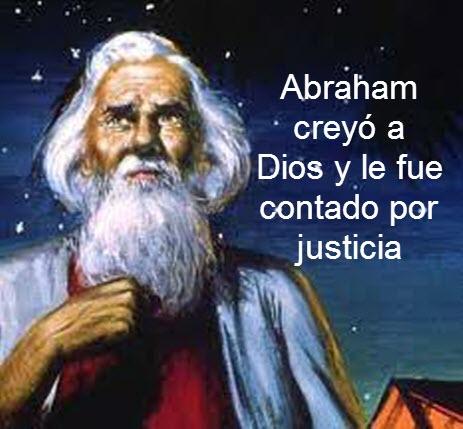 abraham creyó a Dios
